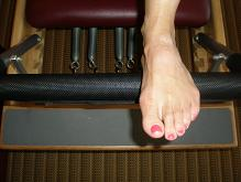 Small karen foot on reformer