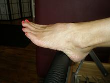 Small karen foot unflat on reformer