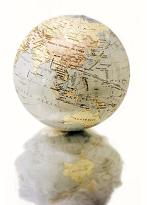 Small globe earth