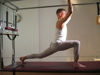 Pilates Lunge Backbone and Wingspan Midtown Manhattan