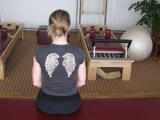 Pilates Physical Therapy Midtown NYC Power Sitting