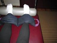 Pilates Trapeze Table Feet Sandbagged