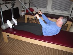 Pilates Roll Down Backboen and Wingspan