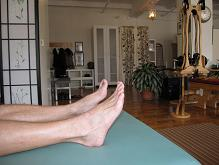 Heel to Spine Exercise Backbone and Wingspan NYC