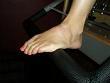 Pilates Reformer NYC Top of Foot