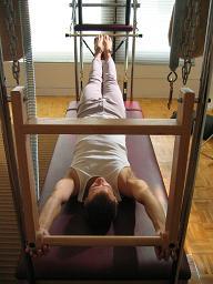 Pilates New York City Trapeze Table Levitation Exercise