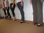 Pilates Feldenkrais NYC Walking in High Heels