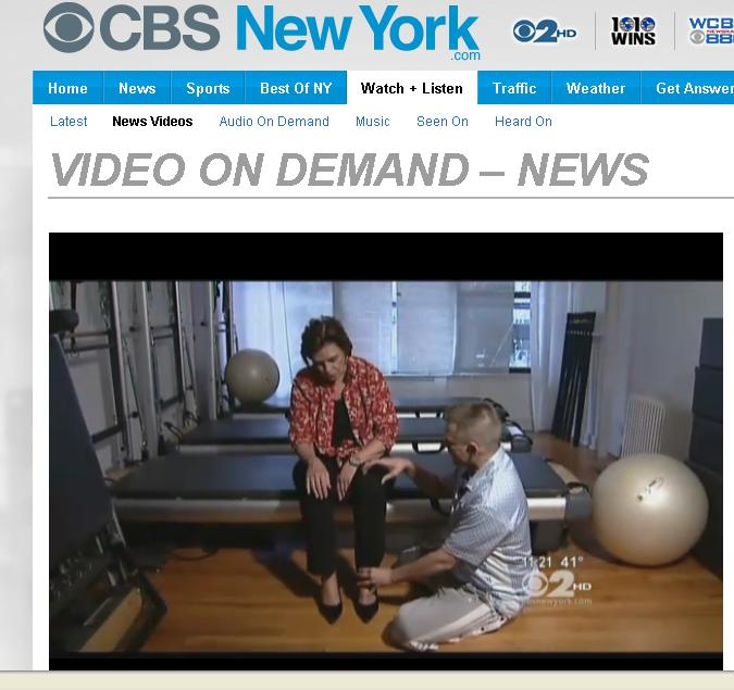 High Heel Healing - CBS 2 New York - Mind Your Body