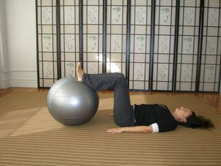 Stability ball exercises for high heel posture- Backbone and Wingspan NYC - feet for fitness