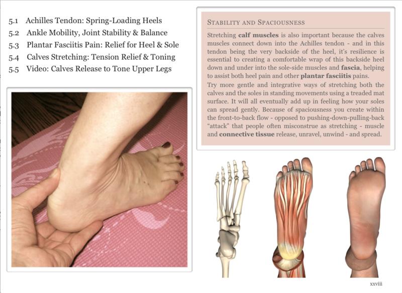 Plantar fasciitis - calves stretching - heel pain