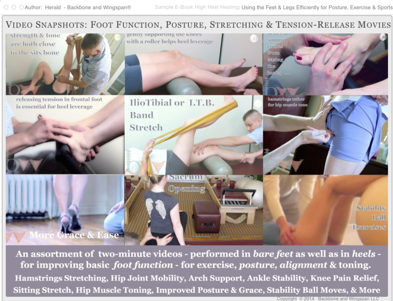 Foot function videos - fitness - exercise - Pilates - posture