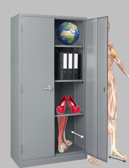 Height width depth - feet on depth plane - sagittal - Female Muscular Anatomy Semi Transparent Angled Front View © Randall Reed - Fotolia.com