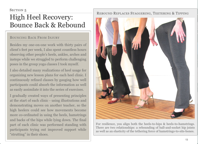 High Heel Recovery - hamstrings strength