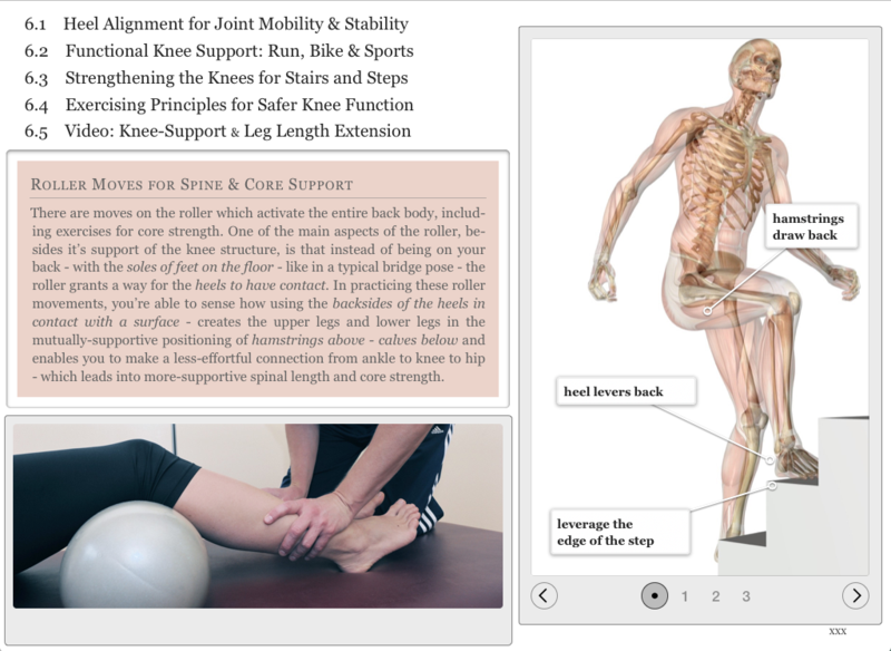 Climbing stairs - knee pain - hamstrings strength