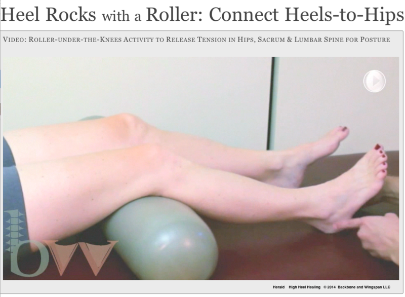 Heel rocks video - High Heel Healing - author Herald