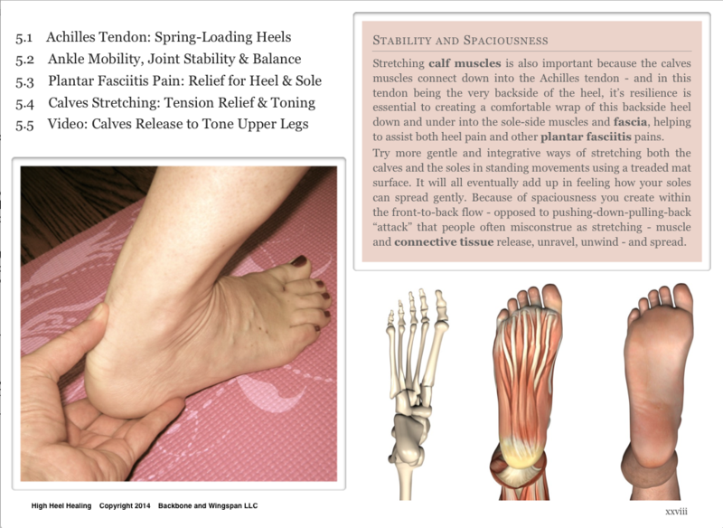 Plantar fasciitis - calves stretching - heel pain - High Heel Healing - Author Herald